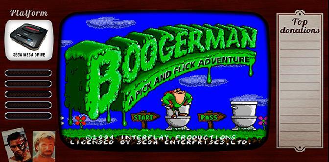 Старые старые игры. Выпуск 13. Boogerman: A Pick and Flick Adventure на sega mega drive смотреть