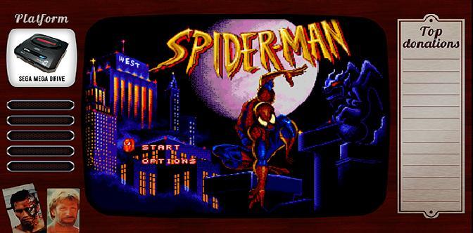 Старые старые игры. Выпуск 15. Spider Man: The Animated Series на sega mega drive смотреть