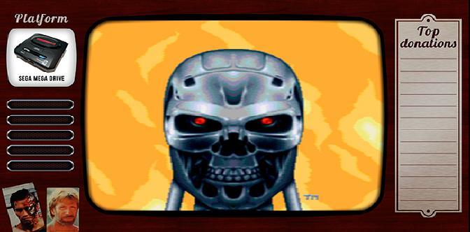 Старые старые игры. Выпуск 17. Terminator 2: Judgement Day на sega mega drive смотреть