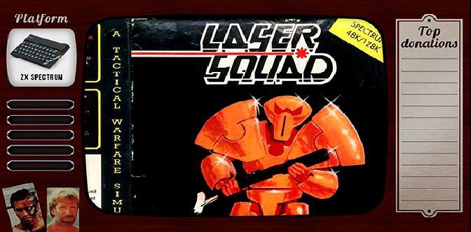 Старые старые игры. Выпуск 18. Laser Squad на zx spectrum смотреть