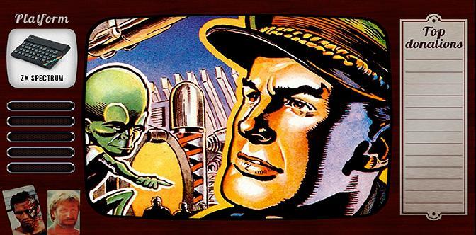 Старые старые игры. Выпуск 20. Dan Dare: Pilot of the Future на zx spectrum смотреть