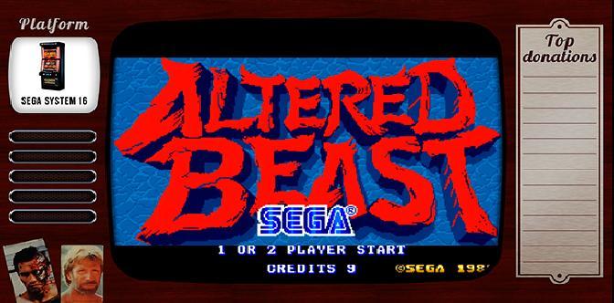 Старые старые игры. Выпуск 6. Altered Beast на Sega System 16 смотреть