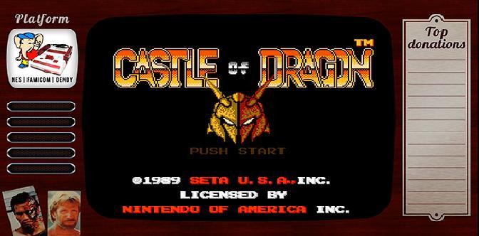 Старые старые игры. Выпуск 8. Castle of Dragon на NES, Famicom, Денди смотреть