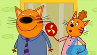 Три кота 1 сезон 13 серия. Воскресенье