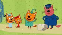 Три кота 1 сезон 16 серия. Почта