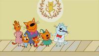 Три кота 1 сезон 17 серия. Танцевальный конкурс
