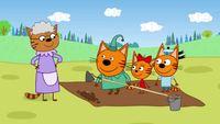 Три кота 1 сезон 20 серия. Урожай