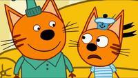 Три кота 1 сезон 27 серия. Писатели