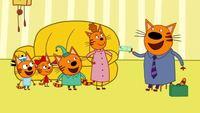 Три кота 1 сезон 30 серия. Командировка