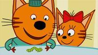 Три кота 1 сезон 35 серия. Бабочка
