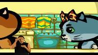 Три котёнка (Сурдоперевод) Сезон 3 Серия 7. Наша ванна океан