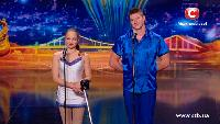 Україна має талант Україна має талант Акробатика на моноцикле.  Дмитрий и Елена Дудник - Кастинг в Одессе