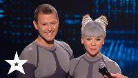 Україна має талант Україна має талант Анжела Филипова и Олег Танкопий. Второй прямой эфир