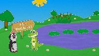 Уроки от Пинги и Кроки Сезон-1 5 лягушек