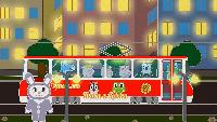 Уроки от Пинги и Кроки Сезон-1 Едет красный трамвай