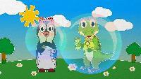Уроки от Пинги и Кроки Сезон-1 Мыльные пузыри