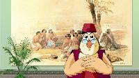 Уроки тетушки совы Всемирная картинная галерея Всемирная картинная галерея - Дэвид Робертс