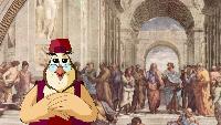 Уроки тетушки совы Всемирная картинная галерея Всемирная картинная галерея - Рафаэль Санти