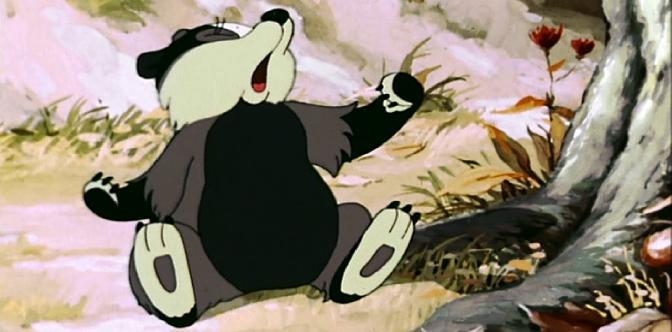 В лесной чаще. Советский мультфильм. Сказка о Барсучонке. смотреть
