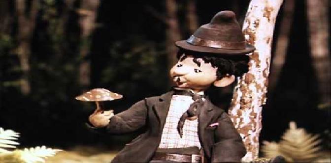 Веселые охотники Карандаш и Клякса. Советский кукольный мультфильм. смотреть