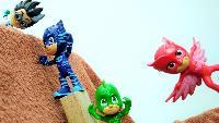 Видео для детей: Герои в масках! Кэтбой и Гекко против РОМЕО. Видео #игрушки для детей