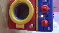 Видео обзоры игрушек - стиральная машина Junior Home