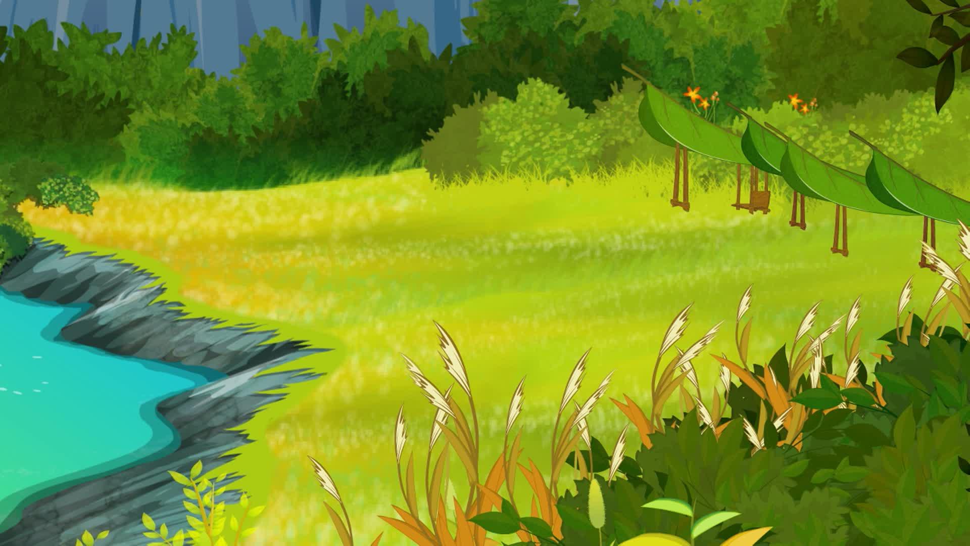 Юху и его друзья Юху и его друзья. Сезон 1 12 - Зеленое семечко в озере