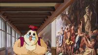 Заняття тітоньки сови Всесвітня картинна галерея Всесвітня картинна галерея - Ніколя Пуссен