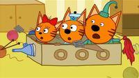 Три кота 1 сезон 12 серия. Космическое путешествие